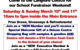 A new fundraiser….Costco
